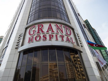 """Vergilər Nazirliyi QALMAQALLI """"Grand Hospital""""ı"""