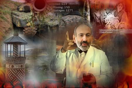 """Paşinyan Parisdən Bakı və Ankaraya """"dil"""" uzatdı -"""