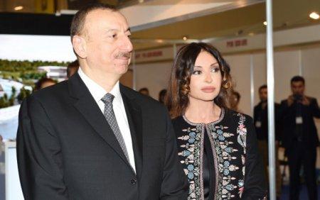 Leyla Əliyevadan valideynlərinə təbrik -
