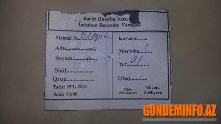 Bərdədə bir müəllimə icra başçısının adıyla təzyiq edilir -