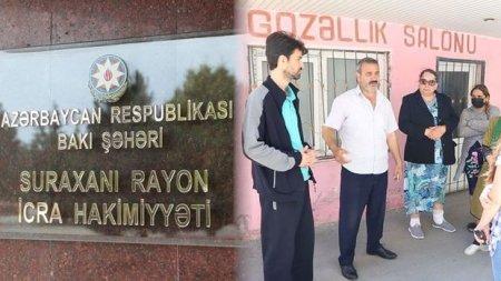 Qəzalı binada gərginlik artır: