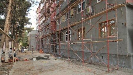 Universitet binasının təmiri -