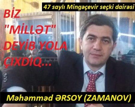 Dia.az-ın baş redaktoru deputatlığa namizəd oldu