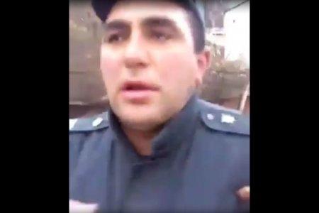 Sərxoş polis işdən çıxarıldı -