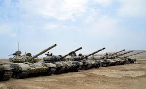 Ordumuzun tankları döyüş tapşırığında  -