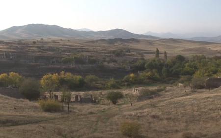 İşğaldan azad olunan Çərəkən kəndi -
