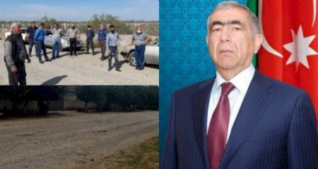 Saleh Məmmədov Qazyan sakinlərini yolsuz qoydu -