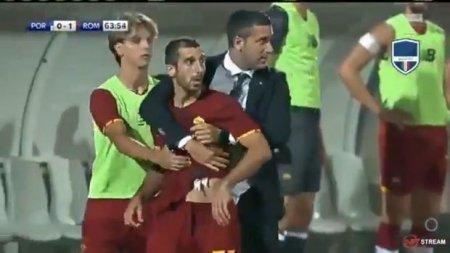 Meydanda dava salan erməni futbolçu dərhal oyundan çıxarıldı -
