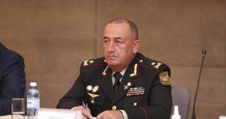 General Bəkir Orucov Müdafiə Nazirliyində yeni vəzifəyə təyin edildi